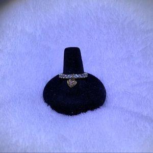 KIRKS FOLLY— Heart dangle ring